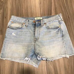 Madewell Cutoff Jean Shorts